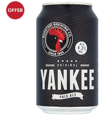 Rooster's Yankee Original Pale Ale 330ml