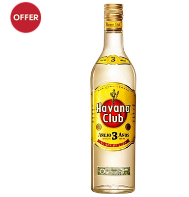 Havana Club Anejo 3-Year-Old Rum