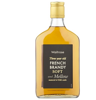 Waitrose 3-Year-Old French Brandy 35cl