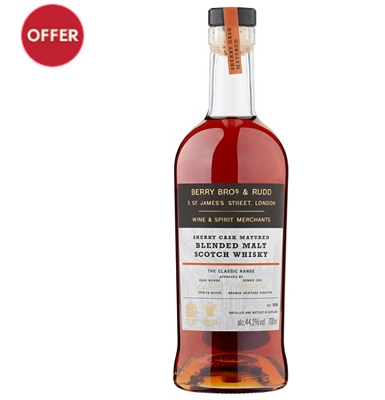 Berry Bros & Rudd Sherry Cask Matured Blended Malt Scotch Whisky