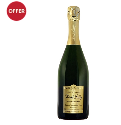 Champagne René Jolly Blanc de Noirs Extra-Pur NV