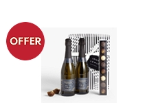 John Lewis & Partners Prosecco Duo & Chocolates