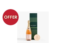 Waitrose & Partners Pink Champagne & Truffles Gift
