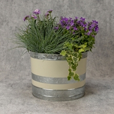 Yellow Garden Planter