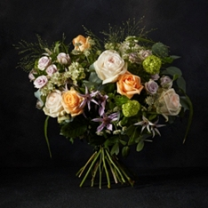No.1 Scented Apricot Rose Bouquet