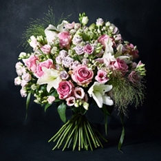 No.1 Premium Rose & Lily Bouquet