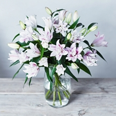 Speciality Rose Lilies - ready to arrange