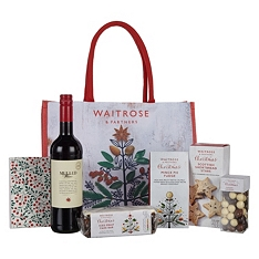 Waitrose & Partners Christmas Gift Bag