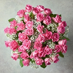Mother's Day Pink Sweetheart Roses