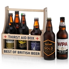 Best of British Beer Thirst Aid Box