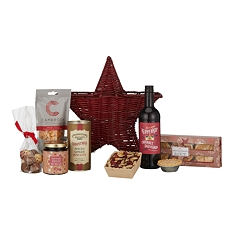 John Lewis & Partners Christmas Star Gift Basket