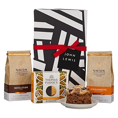 John Lewis & Partners Coffee & Biscuits Gift Box