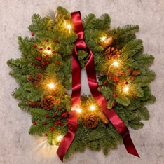 Christmas Wilderness Wreath