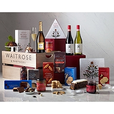 Waitrose & Partners Christmas Celebration Crate