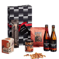 John Lewis & Partners Beer & Nibbles Gift Box