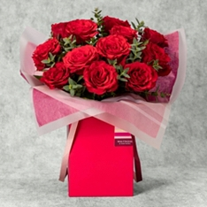 Valentine's Day Red Rose Gift Bag
