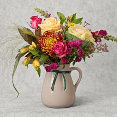 Rose & Sunflower Jug