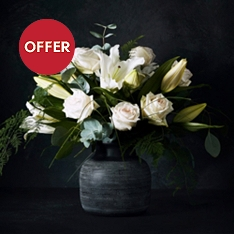 No.1 Rose and lilies vase set