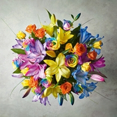 Valentine's Day Luxury Rainbow Bouquet
