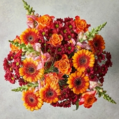 Large Russet Tapestry Bouquet