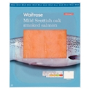 Waitrose Scottish Smoked Salmon 100g