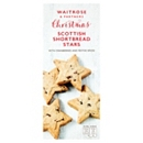 Waitrose & Partners Christmas Scottish Shortbread Stars 130g