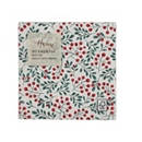 Waitrose & Partners Christmas Home Winter Berries Napkin 33cm