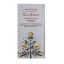 Waitrose & Partners Christmas Mince Pie Fudge 130g