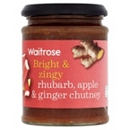 Waitrose Rhubarb, Apple and Ginger Chutney 320g