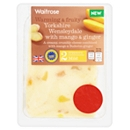 Waitrose Yorkshire Wensleydale with Mango & Ginger 200g