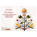 Waitrose & Partners Christmas 6 All Butter Mince Pies