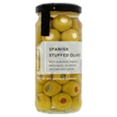 Waitrose 1 Spanish Stuffed Olives 240g
