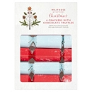 Waitrose & Partners Christmas 6 Crackers with Chocolate Truffles 130g