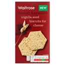 Waitrose Nigella Seed Biscuits for Cheese 150g